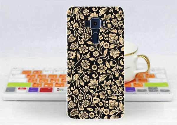 ♥ 俏魔女美人館 ♥ {金色花朵*軟殼} ASUS ZenFone 3 Laser (ZC551KL) 手機殼 手機套 保護套 保護殼