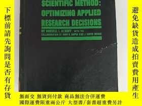 二手書博民逛書店scientific罕見method:optimizing ap