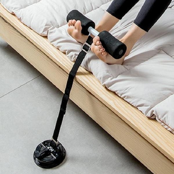 床上仰臥起坐輔助器吸盤式卷腹肌收腹機家用健身器材吸地固定壓腳 交換禮物