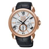 【分期0利率】SEIKO 精工錶 Premier 萬年曆 43mm 動能錶 7D56-0AE0J SNP150J1