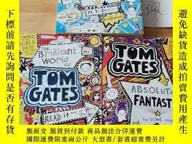 二手書博民逛書店TOM罕見GATES:The Brilliant World of Is Absolutely Fantastic