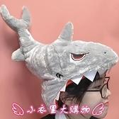 造型帽子 日系ins可愛卡通搞怪創意張大嘴巴咬頭鯊魚頭套帽子表演拍照道具 - 小衣里大購物
