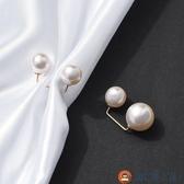 【買一送一】胸針女防走光扣領口珍珠扣針別針固定衣服【淘夢屋】