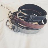 韓版時尚腰帶針扣休閒皮帶
