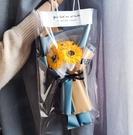 三支玫瑰向日葵康乃馨香皂花