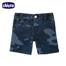 chicco-椰林-迷彩牛仔五分褲