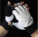nc-PU半指拳擊手套XXL碼(加長護腕版 )散打搏擊格鬥泰拳訓練成人男女