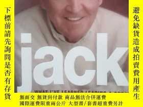 二手書博民逛書店英文原版罕見Jack: What I Learned Leadi