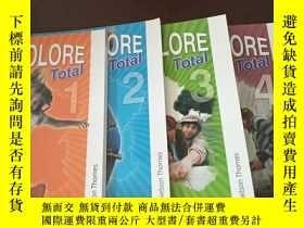 二手書博民逛書店Tricolore罕見Total (1-4 ,Student Book)(英文原版,四冊合售)Y271942