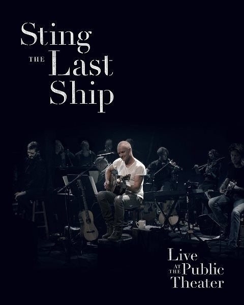 史汀 最後方舟現場 DVD Sting   Live At The Public Theater  (購潮8)