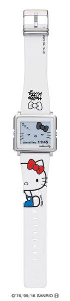 EPSON Hello Kitty Simple White凱蒂貓手錶 輕巧薄型外觀時尚