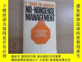 二手書博民逛書店外文書罕見aprimer for managers 共157頁Y15969