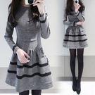 新款女生長袖修身顯瘦蓬蓬打底裙DL8808『黑色妹妹』