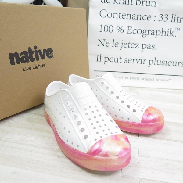 Native JEFFERSON GLOSS YOUTH 中童鞋 151001218948【iSport愛運動】