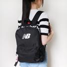 IMPACT New Balance Logo Backpack 黑 桃紅 後背包 雙肩包 鑰匙圈 LAB03004BK