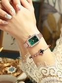 手錶 正品輕奢小眾手錶女士時尚簡約氣質復古長方形女錶學生ins風 阿薩布魯