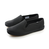Keds CHAMPION S/O BLK/BLK 懶人鞋 皮革 休閒 好穿 黑色 經典款 女鞋 9163W110019 no201