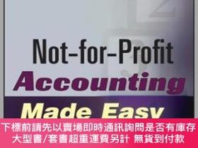 二手書博民逛書店預訂Not-For-Profit罕見Accounting Made Easy, Second EditionY
