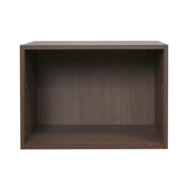 樂嫚妮 堆疊 收納櫃 空櫃 淺胡桃木色