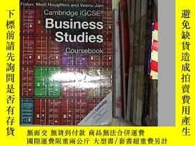 二手書博民逛書店Cambridge罕見Igcse(r) Business Stu