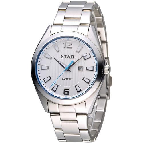 STAR 時代 永恆時光紳士腕錶 9T1602-231S-W