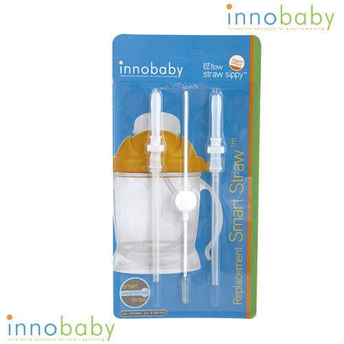 美國 Innobaby 不銹鋼握把吸管杯-替換吸管組