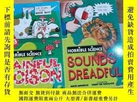 二手書博民逛書店HORRIBLE罕見SCIENCE:SOUNDS DREADFUL PAINFUL POLSON(2本合售)Y