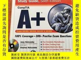 二手書博民逛書店CompTIA罕見A+ Certification Study Guide (Exams 220-801 & 22