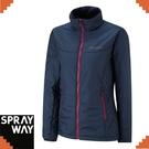 【SPRAYWAY 英國 茱莉中纖外套《藍紅 》】0256/保暖/防風/禦寒外套/輕量/柔軟/透氣