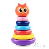 兒童不倒翁大號嬰兒木頭早教益智男女孩寶寶玩具0-3歲【奇趣小屋】