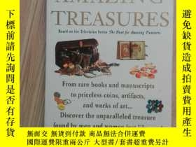 二手書博民逛書店THE罕見HUNT FOR AMAZING TREASURES(