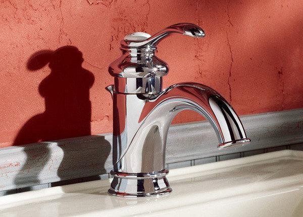 【麗室衛浴】美國KOHLER  Fairfax 古典復古龍頭   K-8657K-CP