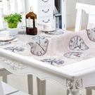 桌墊 軟玻璃PVC桌布防水防燙防油免洗塑...