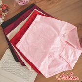 立體彈浮花透氣提臀三角束褲_膚/黑/粉/棗紅 。台灣製 - 魔莉莎
