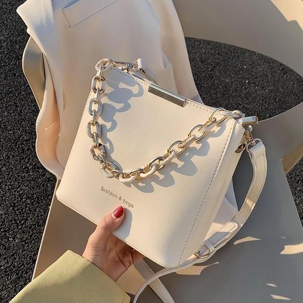 水桶包 洋氣水桶小包包2021新款潮網紅高級感夏季百搭女包質感單肩斜背包 晶彩 99免運