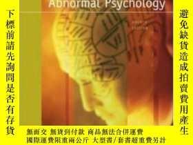 二手書博民逛書店Abnormal罕見Psychology With Mindmap Cd-rom And PowerwebY3