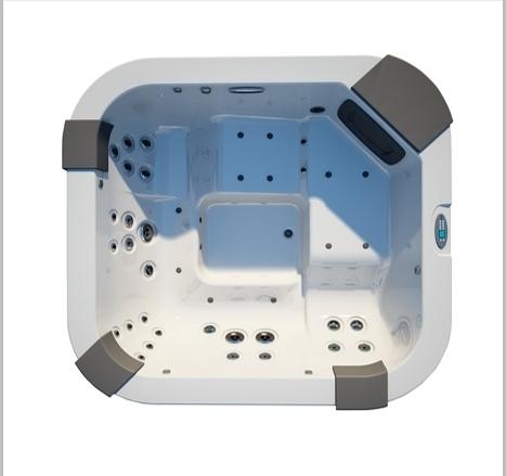 【麗室衛浴】美國第一大廠 JACUZZI SATORINI    5人舒活按摩浴缸 230*215*80CM 豪宅標準配備