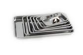 托盤 不銹鋼方盤長方形不銹鋼盤子餐盤燒烤盤鐵盤飯盤果盤菜盤餃盤