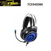 T.c.star 連鈺 街頭霸王GAMING電競玩家頭戴式耳機麥克風 TCE9400BK
