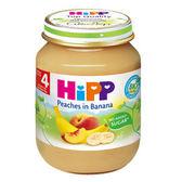 HiPP喜寶 有機水蜜桃香蕉泥125g