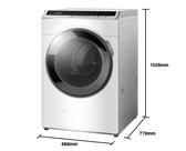 《Panasonic 國際牌》14公斤 變頻滾筒洗衣機 NA-V140HW-W (冰鑽白)