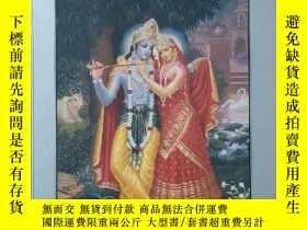 二手書博民逛書店英文原版書罕見Krsna: The Supreme Personality of Godhead Part one