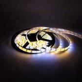 5630 300燈白底扁條燈 5M太陽光 DC12V(防水型)