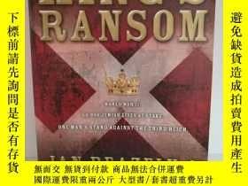 二手書博民逛書店King s罕見Ransom by Jan Beazely an