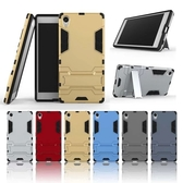 88柑仔店~索尼Z5plus手機殼Z5 Premium鋼鐵侠手機套E6853全包邊保護套防摔支架殼