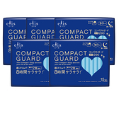 COMPACT GUARD GO可愛夜用超薄29cm(15片/包)x5入組_日本大王elis愛麗思