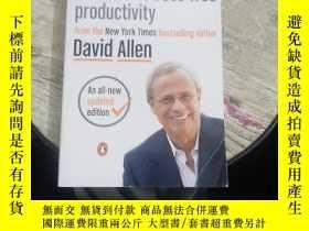 二手書博民逛書店GETTING罕見THINGS DONE--the art of stress-free productivity