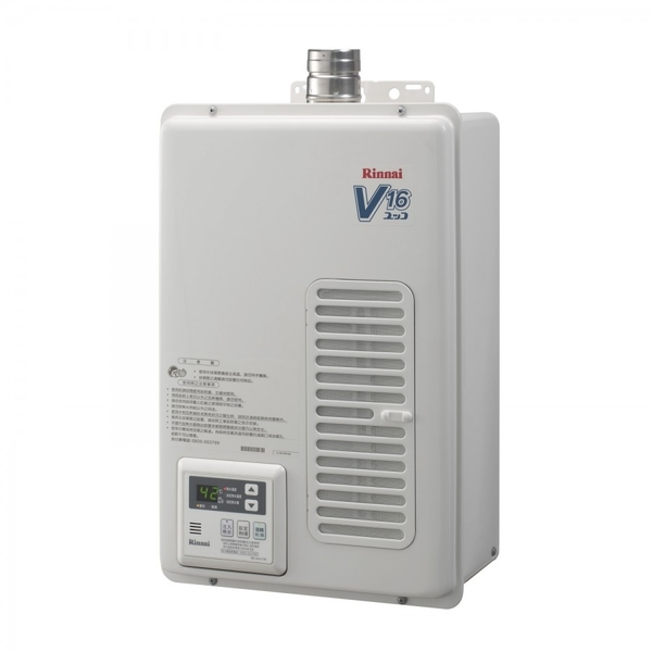 《林內牌》日本原裝進口 屋內強制排氣型 16L 熱水器 REU-V1611WFA-TR