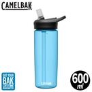 【CamelBak 美國 600ml eddy+多水吸管水瓶《透藍》】1642401060/安全無毒/運動水瓶/隨身瓶/水壺