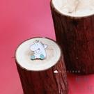 可愛獨角獸胸針 合金衣領針包包掛飾 徽章卡通【極簡生活】